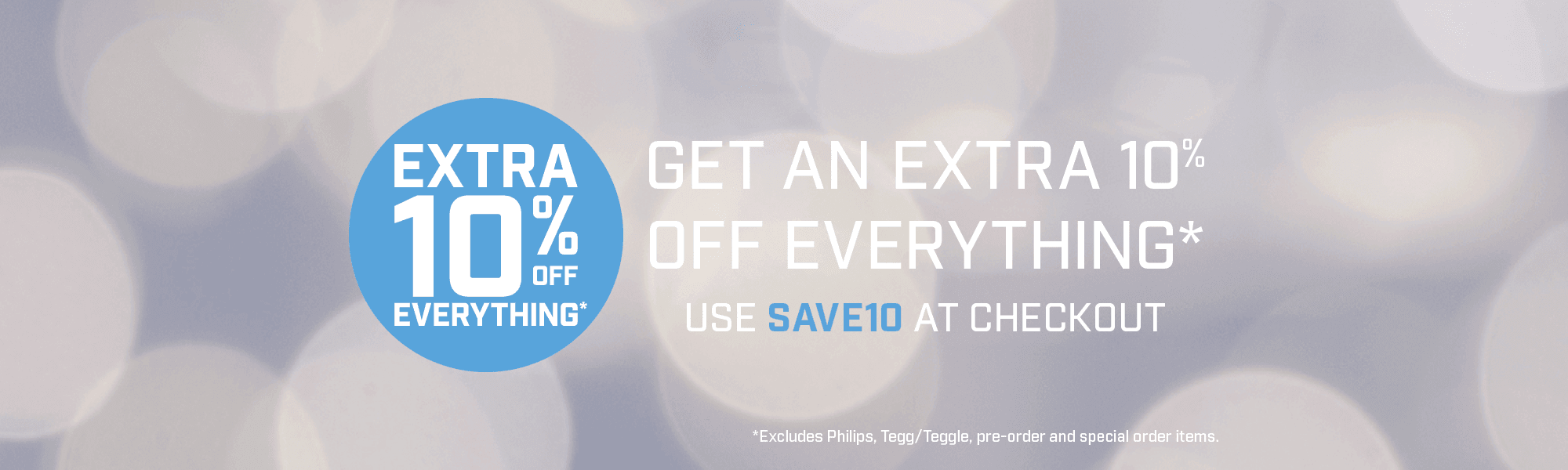 Extra 10% Off Everything! Excludes Philips Products and items on pre-order. Use SAVE10 at Checkout