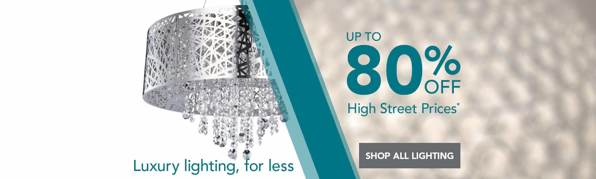 Save Up To 80% off High Street Prices!