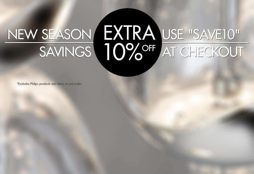 Extra 10% Off Everything! Excludes Philips Products. Use SAVE10 at Checkout.
