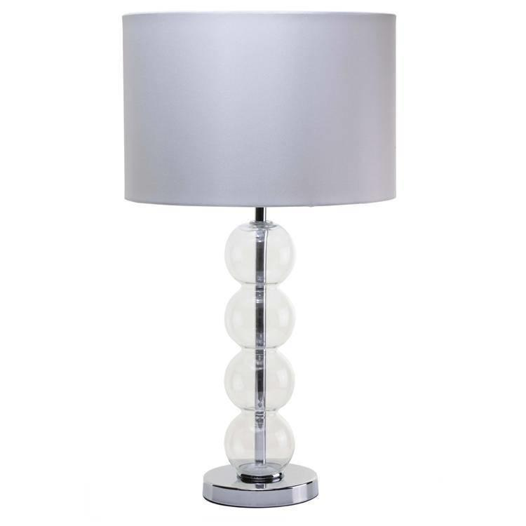 devon glass ball table lamp top table lamps low prices. Black Bedroom Furniture Sets. Home Design Ideas