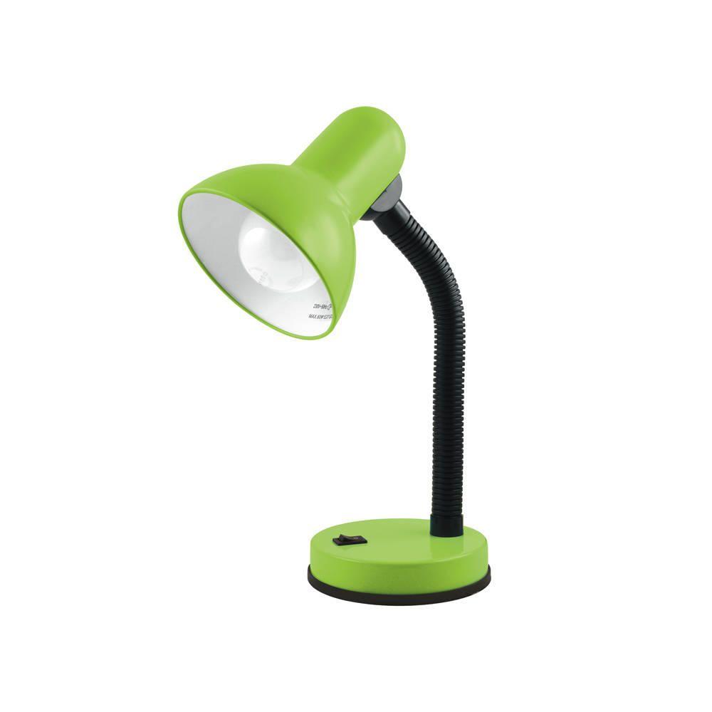 Lime Green Flexi Neck Desk Task Lamp