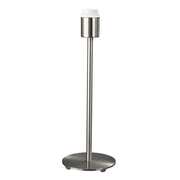 Chrome Table Lamp Round Base
