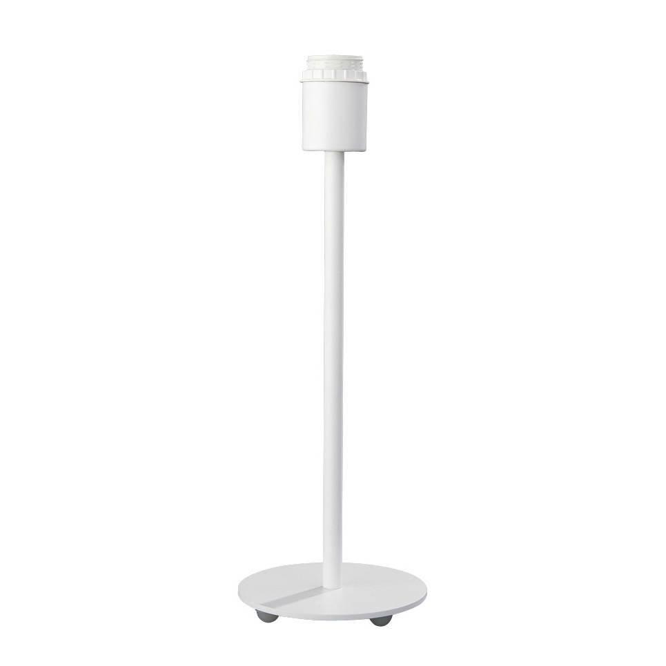 Round Base White Table Lamp