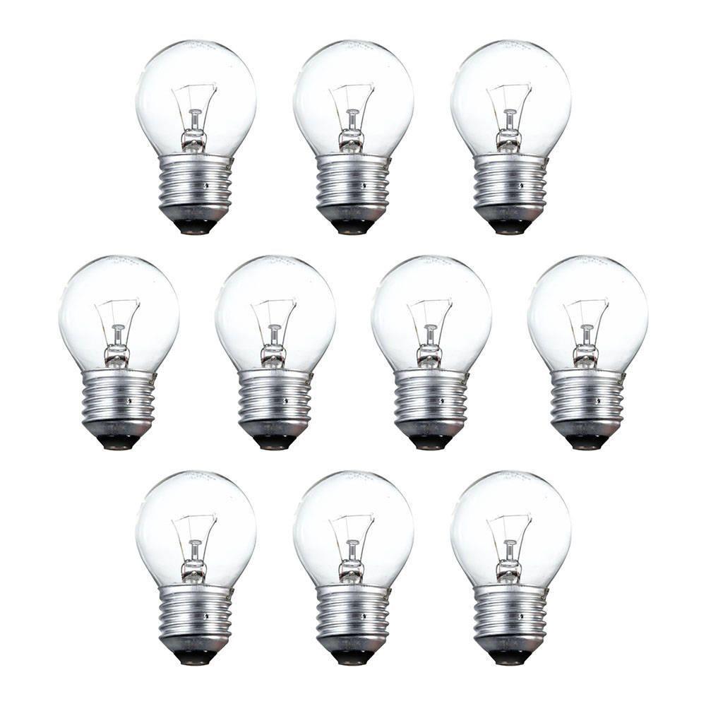 incandescent golf ball light bulbs 40 watt e27 edison screw clear. Black Bedroom Furniture Sets. Home Design Ideas