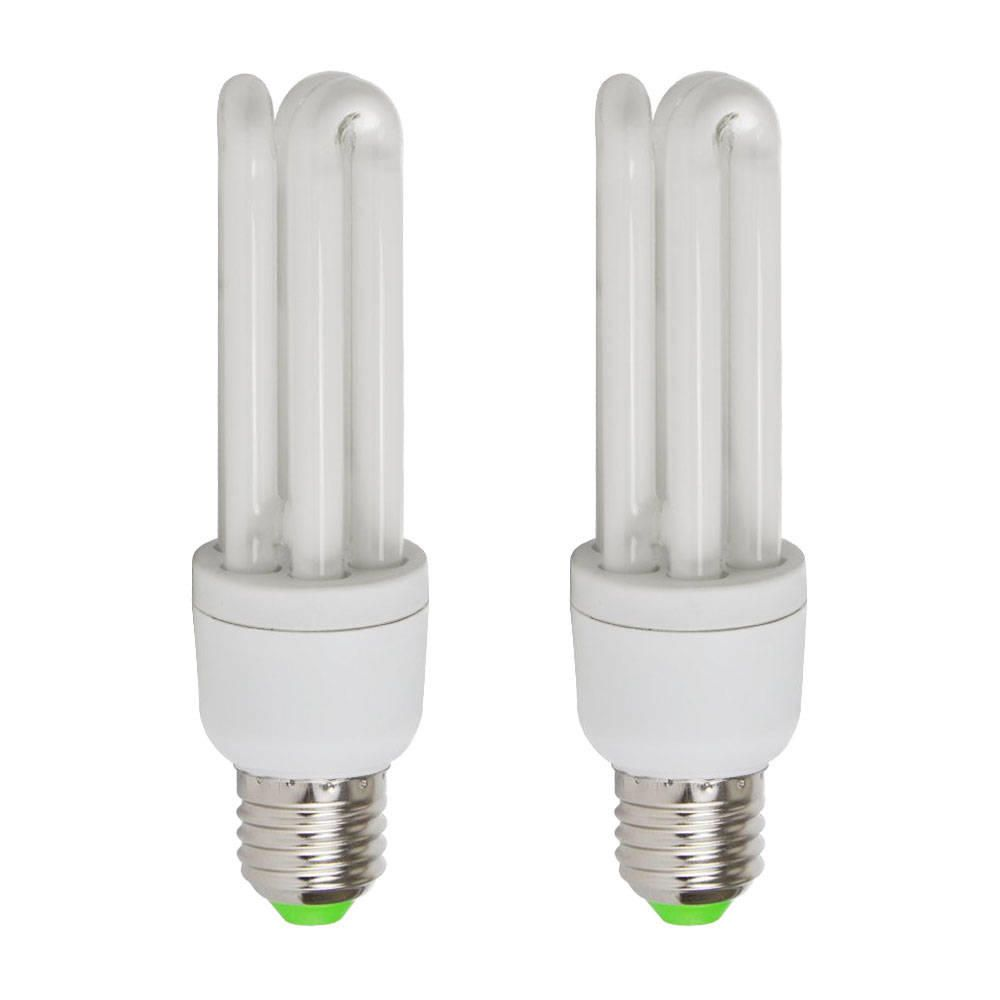 Energy Saving Light Bulb 20 Watt E27 Warm White 2 Pack