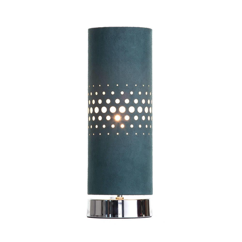Holey 1 Light Table Lamp  Teal  Limited Collection