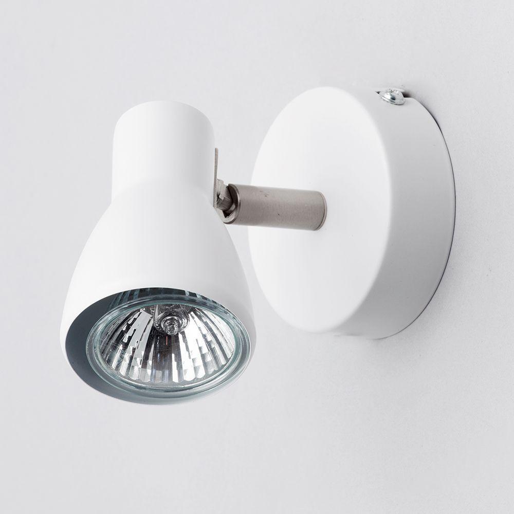 White 2//4 Way Spotlight 3 Way Spotlight Plate Modern /& Wall Spotlight Litecraft