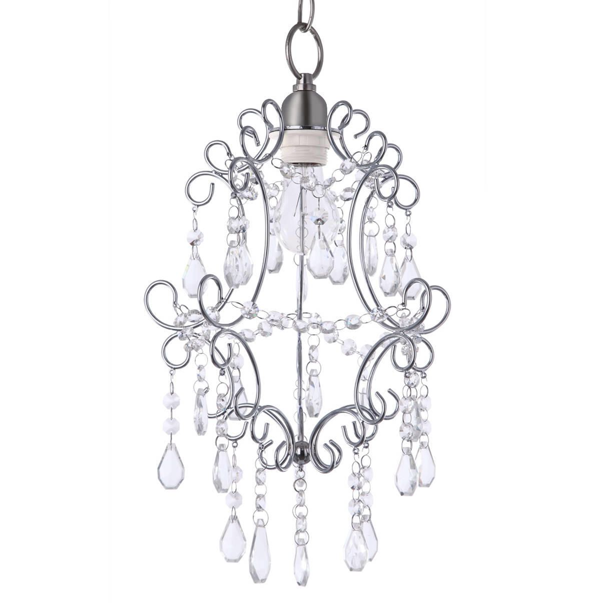 Madonna Easy To Fit Pendant Shade Chrome
