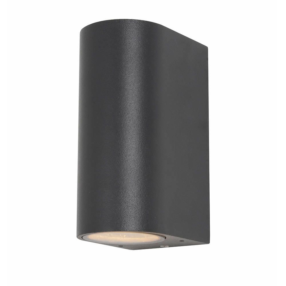 Irwell Up & Down Light Outdoor Wall Light - Anthracite from Litecraft