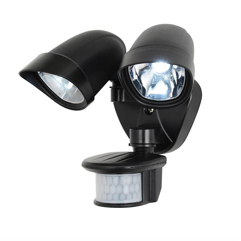 Lune LED Security Wall Light Twinspot PIR From Litecraft