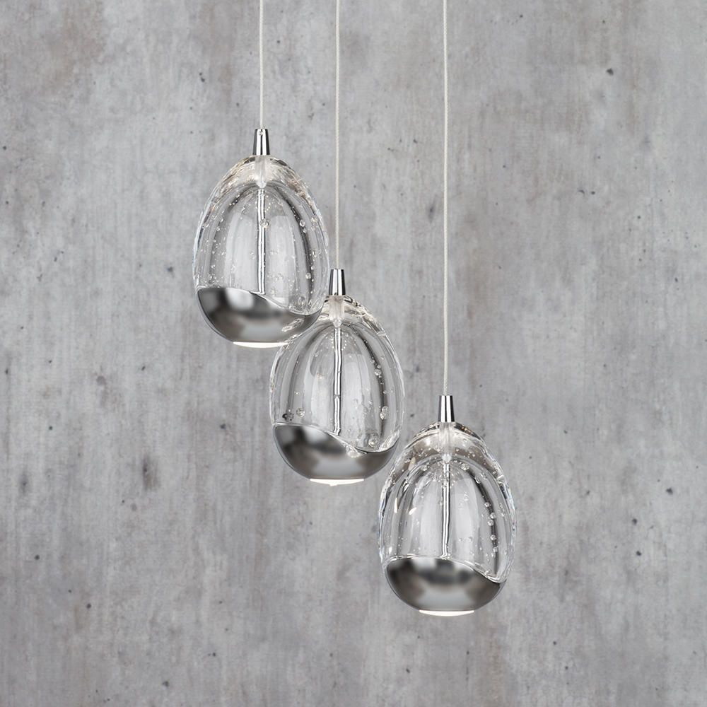 Tegg 3 Light Ceiling Light Cluster Pendant