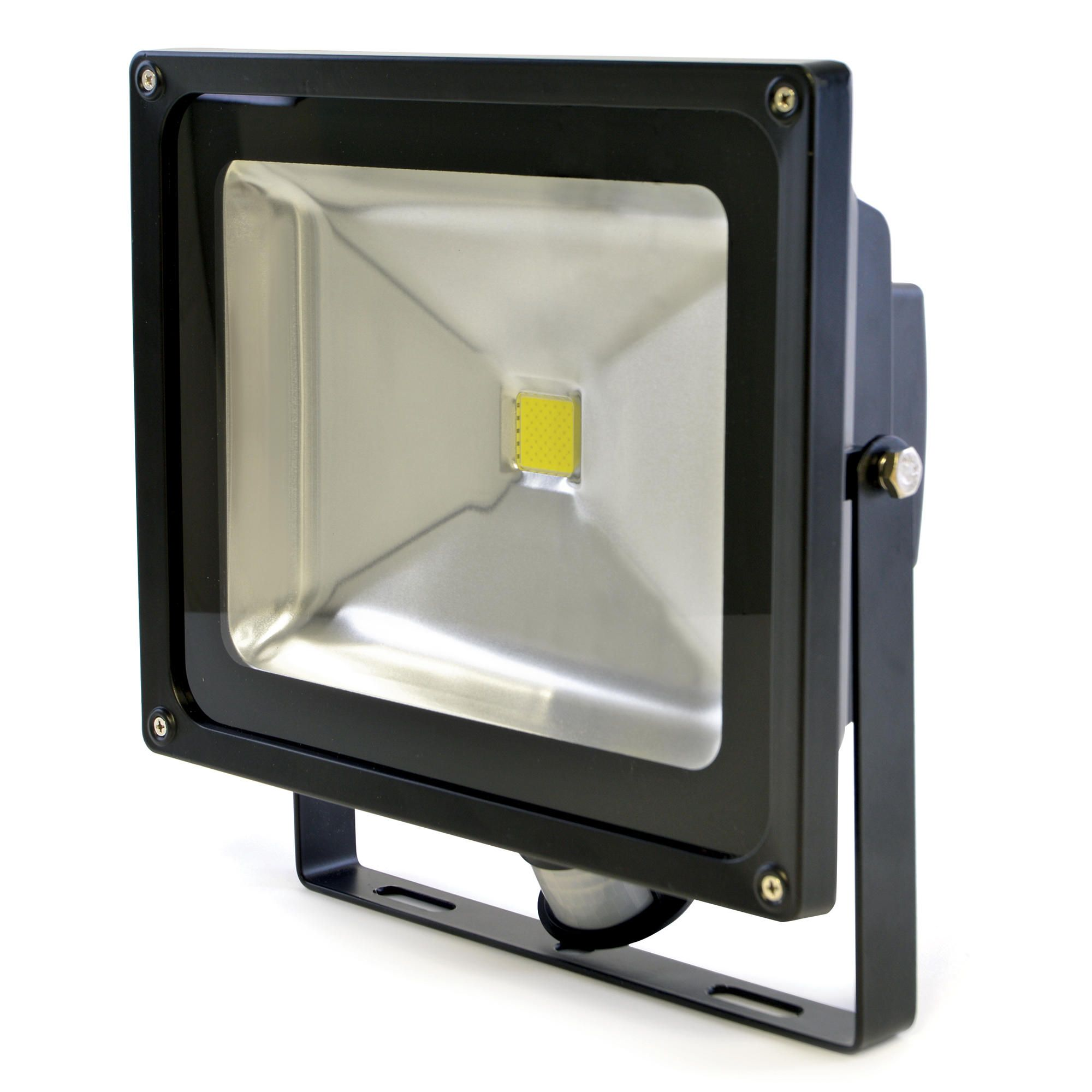 Outdoor LED Security Floodlight With PIR Sensor