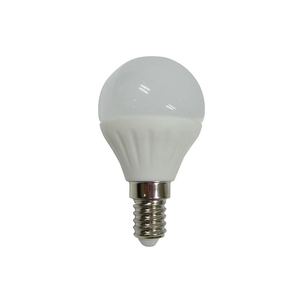 4 watt e14 small edison screw led golf ball light bulb cool white. Black Bedroom Furniture Sets. Home Design Ideas
