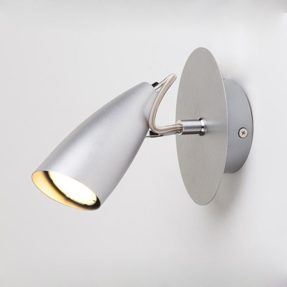 Garufo Wall Spotlight - 1 Light - Grey from Litecraft