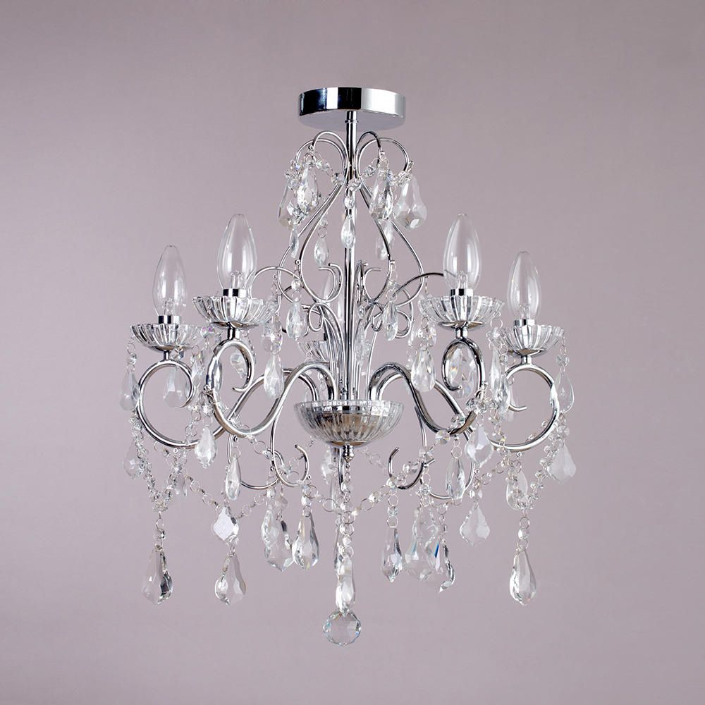 Bathroom Lighting Chandelier With Wonderful Creativity In