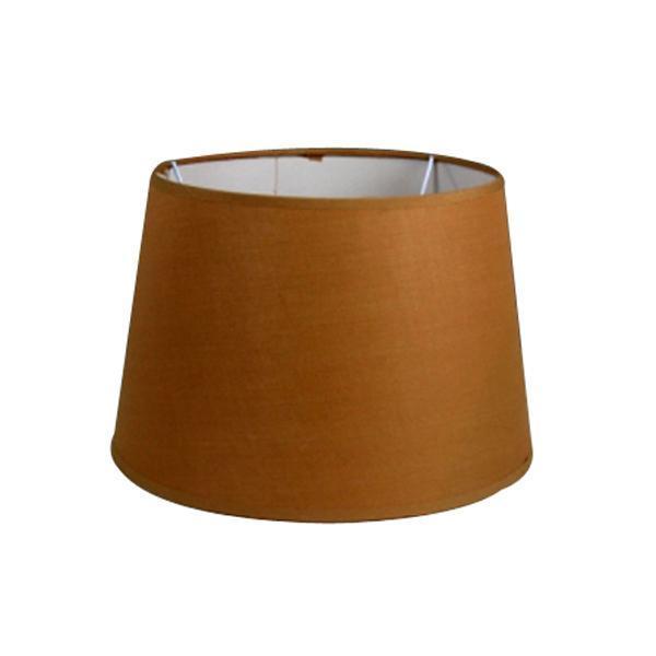 tan drum lamp shade 25cm from litecraft. Black Bedroom Furniture Sets. Home Design Ideas