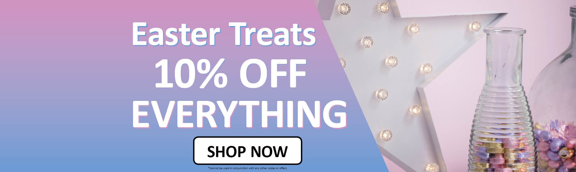 Easter Treats 10% off Everything