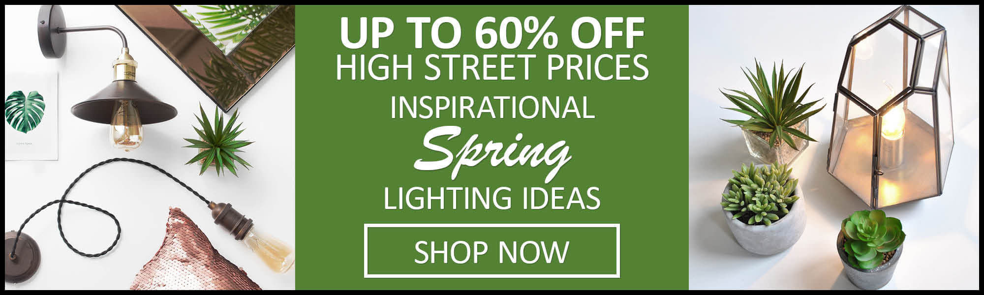 Up to 60% off High Street Prices