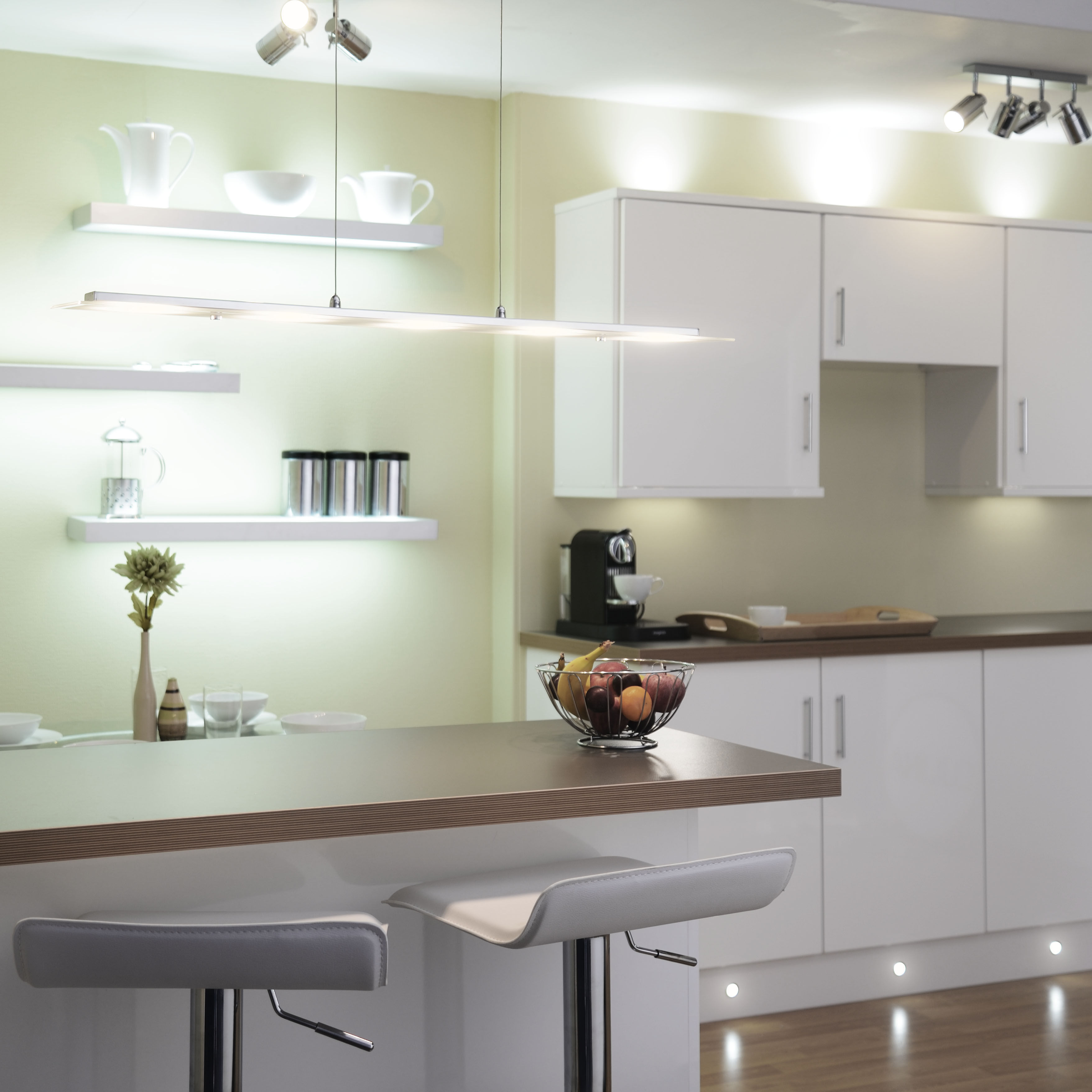 A Guide To Kitchen Lighting From Litecraft: Kitchen Lighting UK: Spotlights & Ceiling Lights