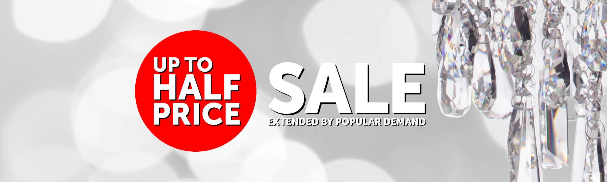 Sale extneded due to popular demand