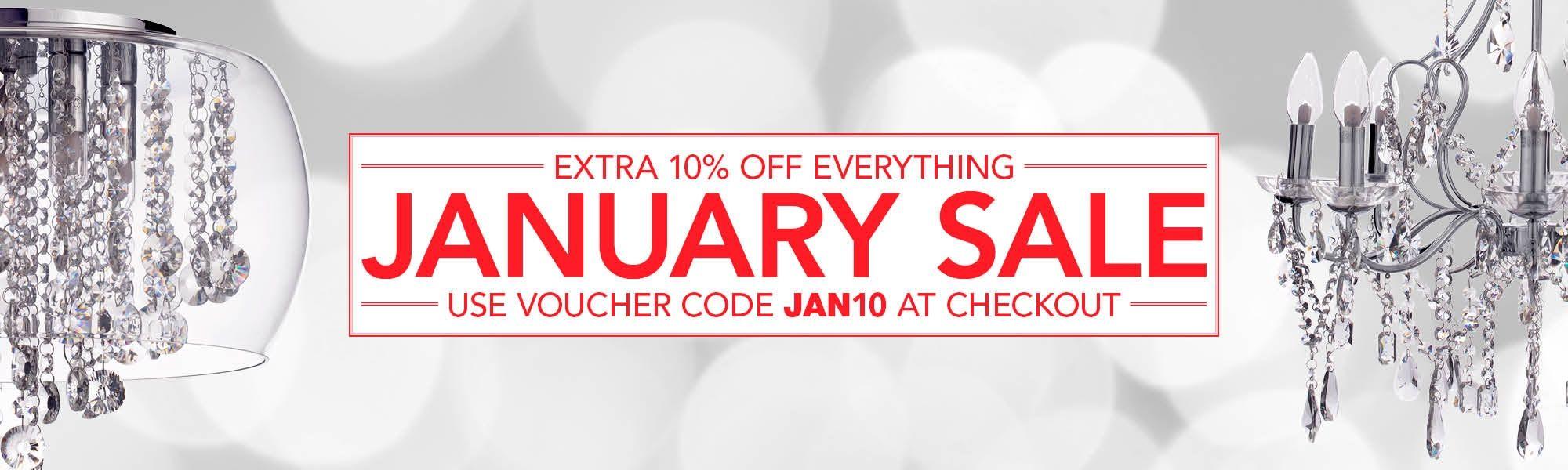 January Sale - Use JAN10 at Checkout