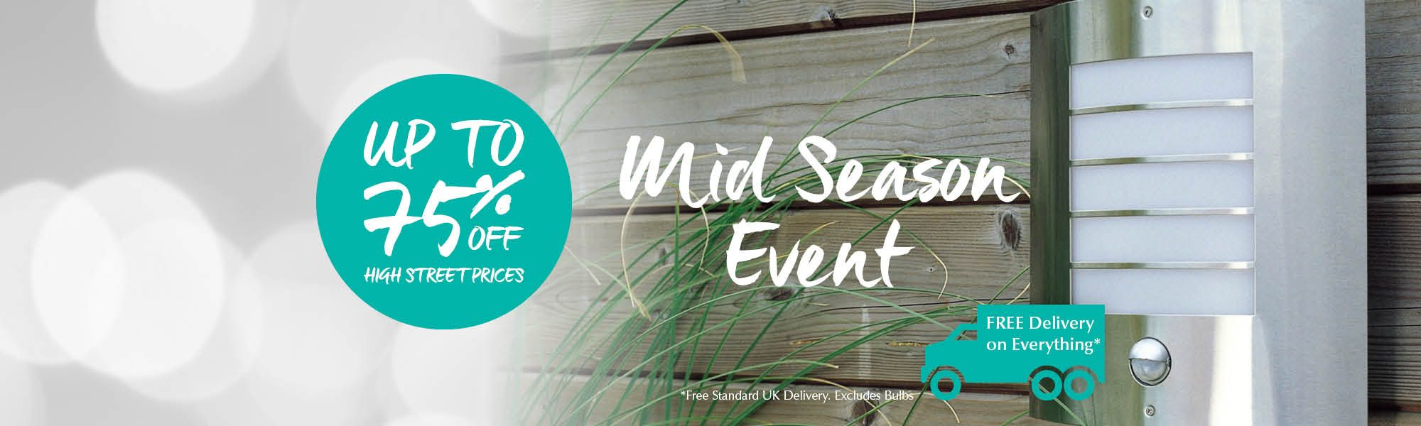 Mid Season Event at Litecraft - Save up to 75% off High Street Prices