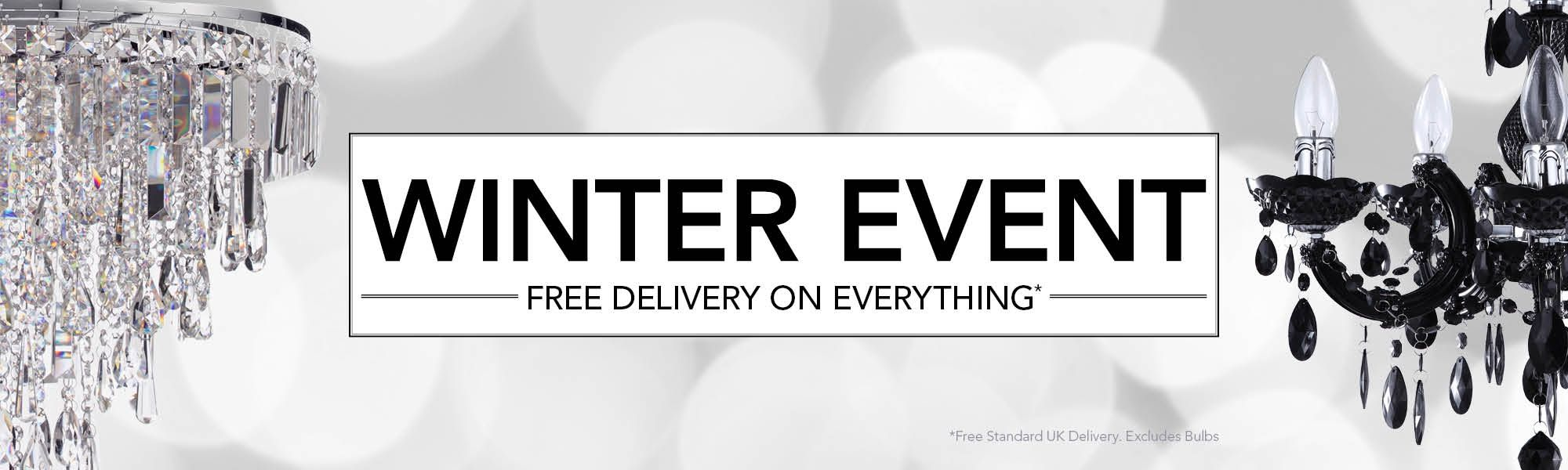Winter Event - Free Delivery on Everything*