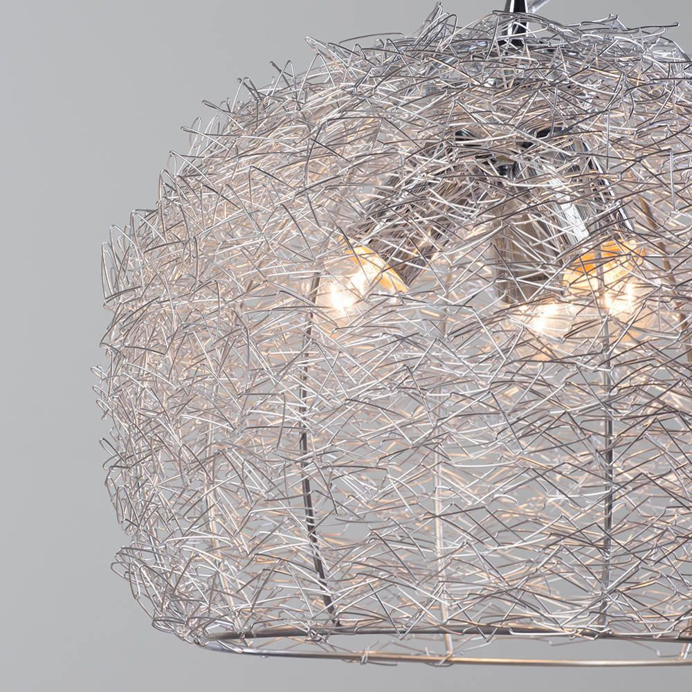 Promo Wire Pendant Ceiling Light - Chrome from Litecraft