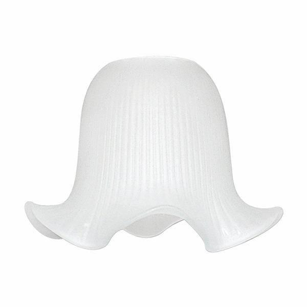swan neck frosted glass lamp shade