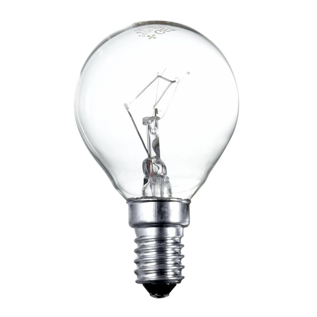 25 Watt SES E14 Small Edison Screw Golf Ball Light Bulb ClearLight up your living space with this 25 watt golf ball light bulb. It features an E14 bas