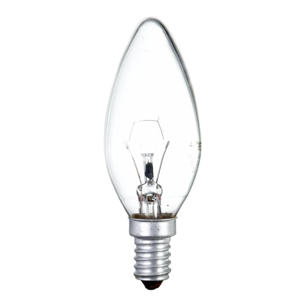 60 Watt SES E14 Small Edison Screw Candle Light Bulb ClearThis 60 watt light bulb has an E14 base to fit in any Small Edison Screw light fitting. The