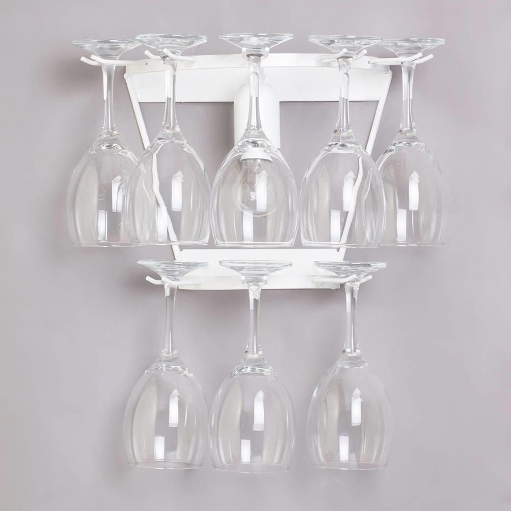 Wine Glass Wall Lights : Wine Glass Decorative Wall Light - White from Litecraft