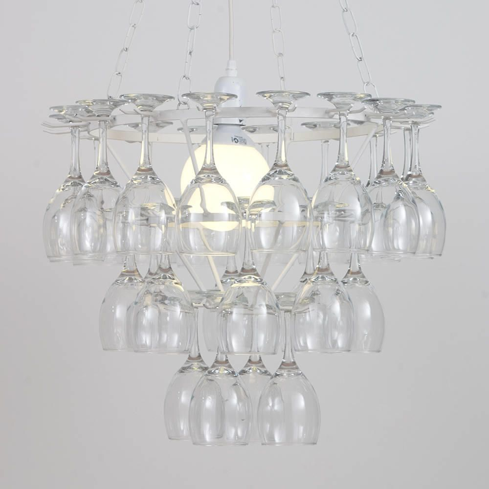 3 tier wine glass chandelier white from litecraft one bulb metal chandelier interior design arubaitofo Image collections
