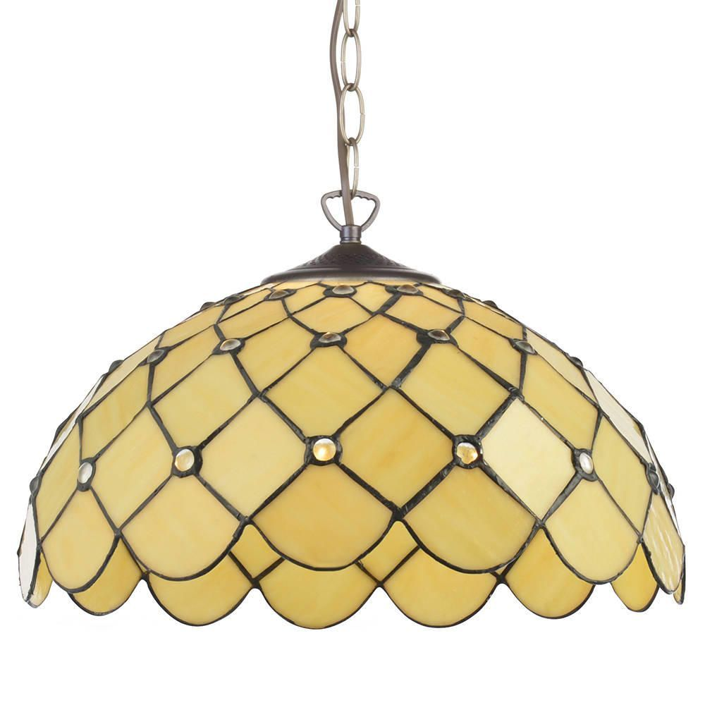 Tiffany jewel 16 inch ceiling pendant with shade - honey  sc 1 th 225 & Lighting Light Bulbs u0026 Accessories Home Decor Mirrors UK | Shop ... azcodes.com
