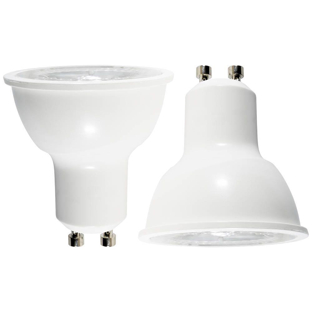 2 pack of 5 7 watt led gu10 light bulb warm white from litecraft. Black Bedroom Furniture Sets. Home Design Ideas