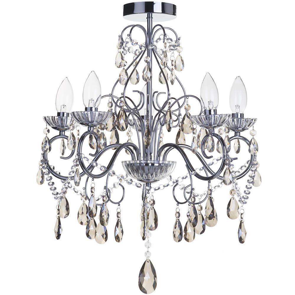 Lightingceiling lights litecraftuk furniture online - Bathroom crystal chandelier ...