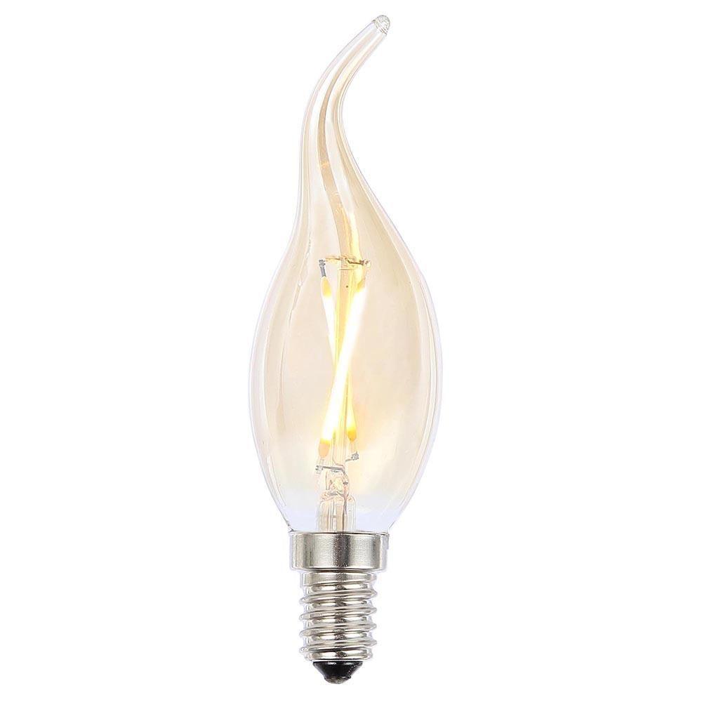 vintage filament 2 watt led e14 small edison screw light. Black Bedroom Furniture Sets. Home Design Ideas