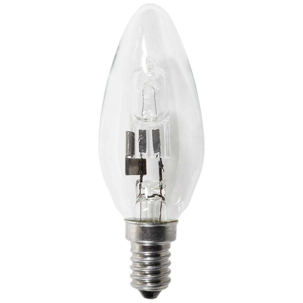 42 watt e14 eco candle small edison screw halogen light. Black Bedroom Furniture Sets. Home Design Ideas