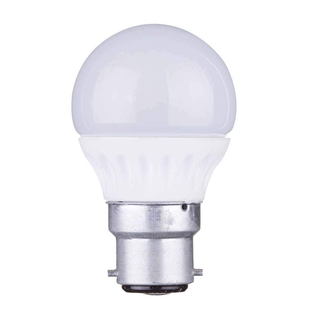 4 Watt B22 Bayonet Cap Led Globe Light Bulb Warm White From Litecraft