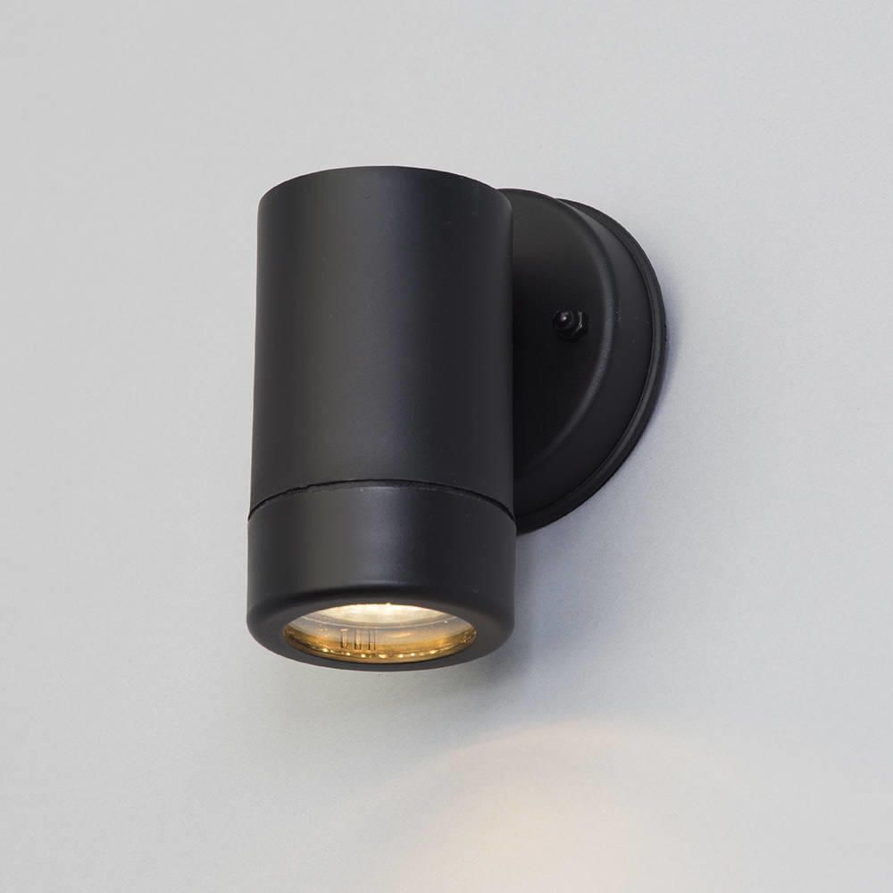 Hahn Outdoor Polycarbonate LED Black Wall Light |Litecraft on Led Wall id=67368