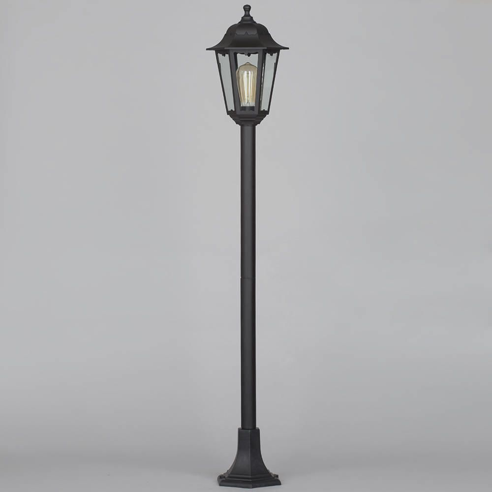 Outdoor Lighting Clearance: Outdoor Lamp Post Lantern Black Poly Carbonate Walkway