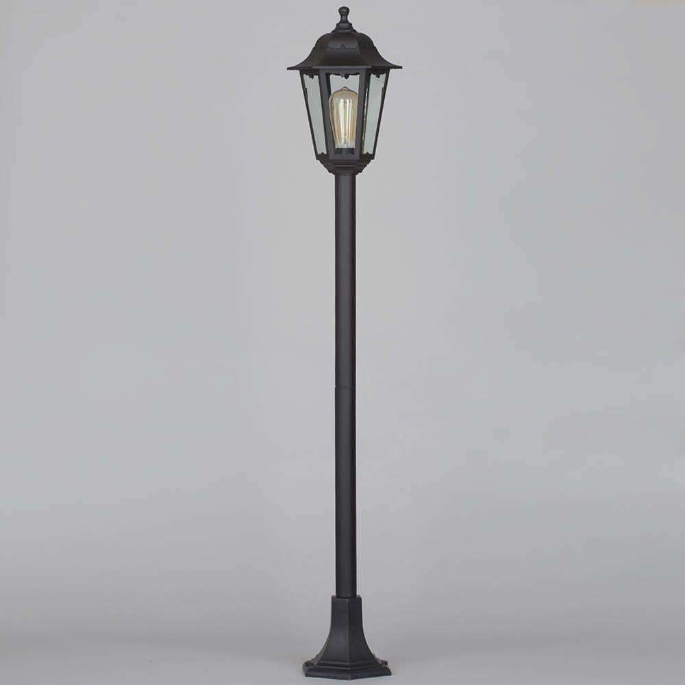 Neri outdoor polycarbonate lamp post lantern black from litecraft corrosion resistant coastal lighting black post light from litecraft aloadofball Gallery