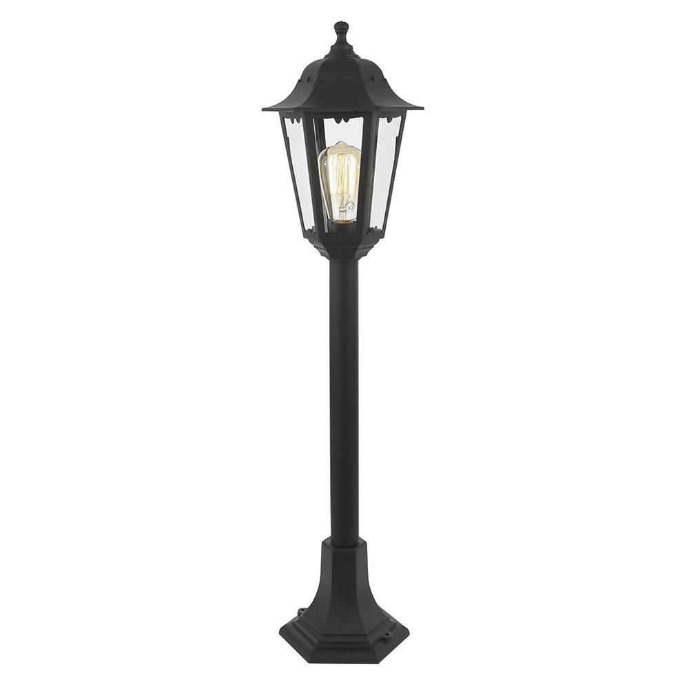 Neri Outdoor Polycarbonate Lamp Post Lantern - Black from Litecraft
