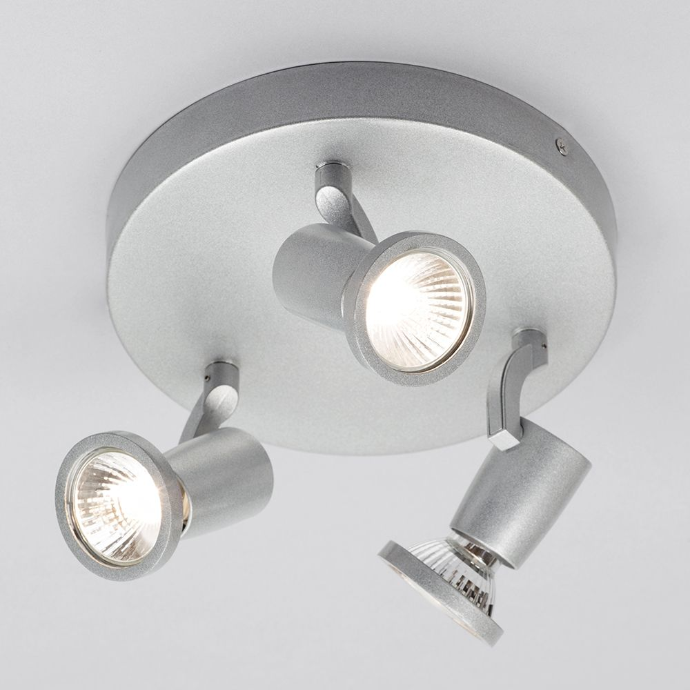 Adjustable 3 Way Spotlight Ceiling Plate Kitchen Light