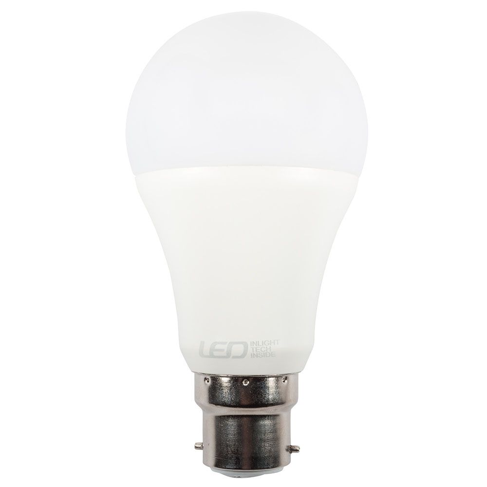 9 Watt B22 Bayonet Cap Led Gls Smart Lamp Light Bulb Cool White From Litecraft