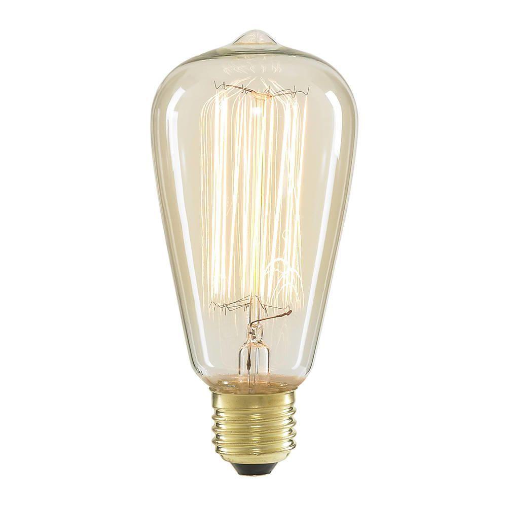 light bulbs cage 40 watt vintage teardrop e27 edison screw light bulb. Black Bedroom Furniture Sets. Home Design Ideas