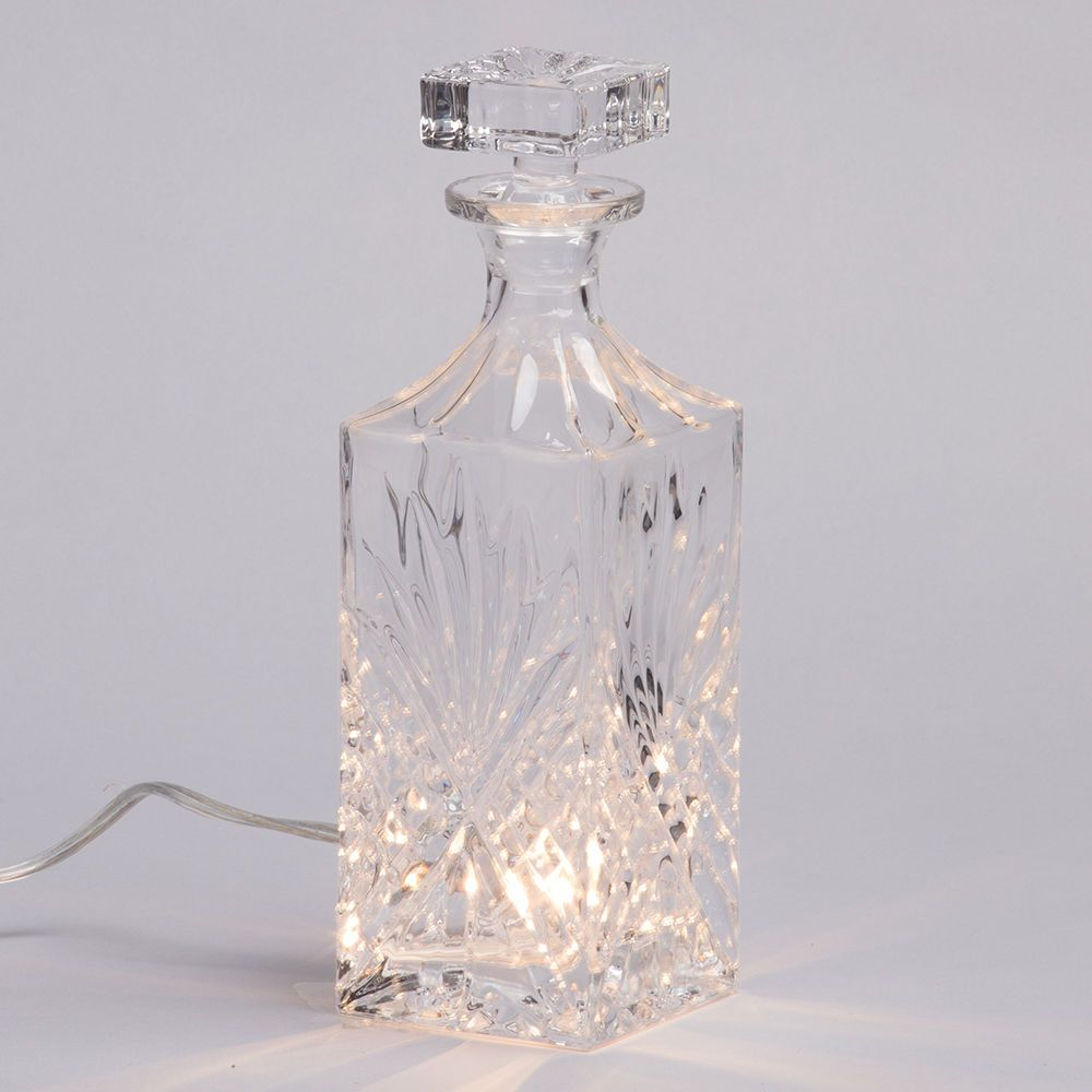 1 Light Decanter Table Lamp