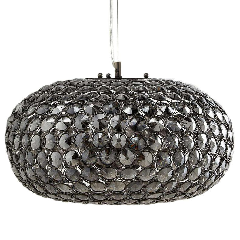 Kensington 3 Light Glass Mesh Ceiling Pendant