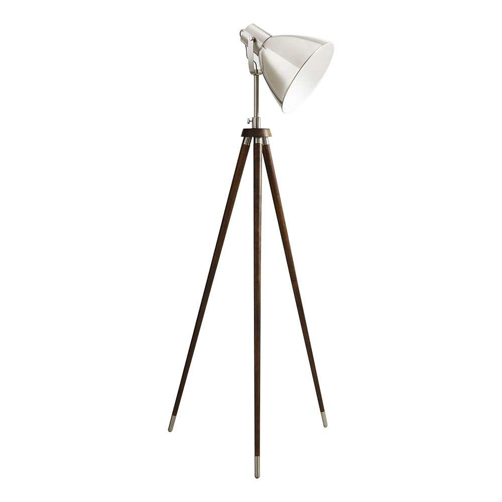 floor lamps all floor lamps 1 light tripod industrial style floor lamp. Black Bedroom Furniture Sets. Home Design Ideas