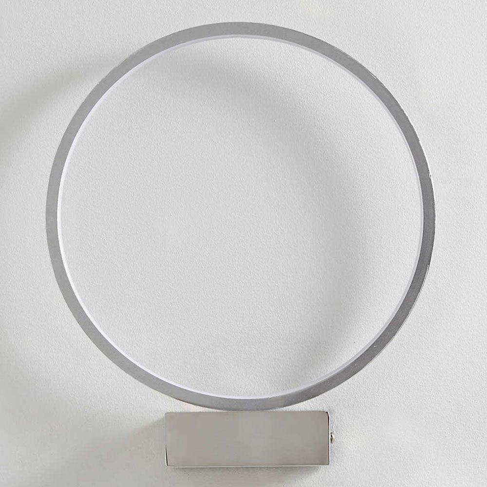 Circular Integrated Led Wall Light Chrome Litecraft